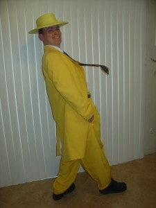 Yellow Zoot Suit For Auction Theme