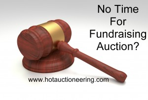 Fundaraising Auctioneer