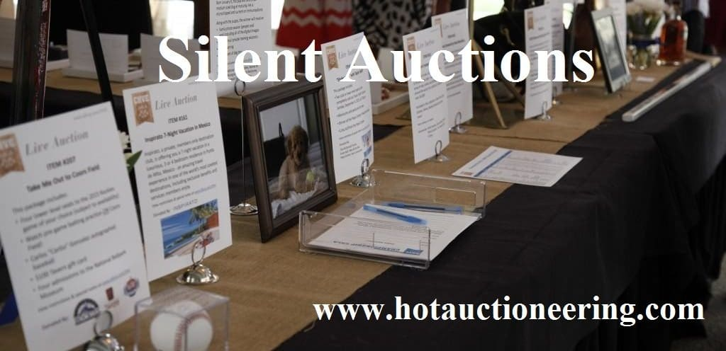 Silent auction advice and how to run a succesful silent for Auction advice