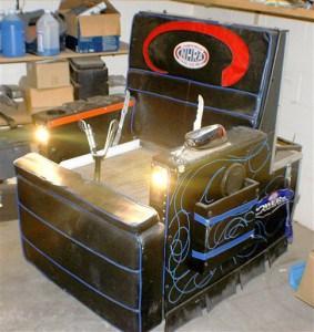 Motorized La-Z-Boy at Auction